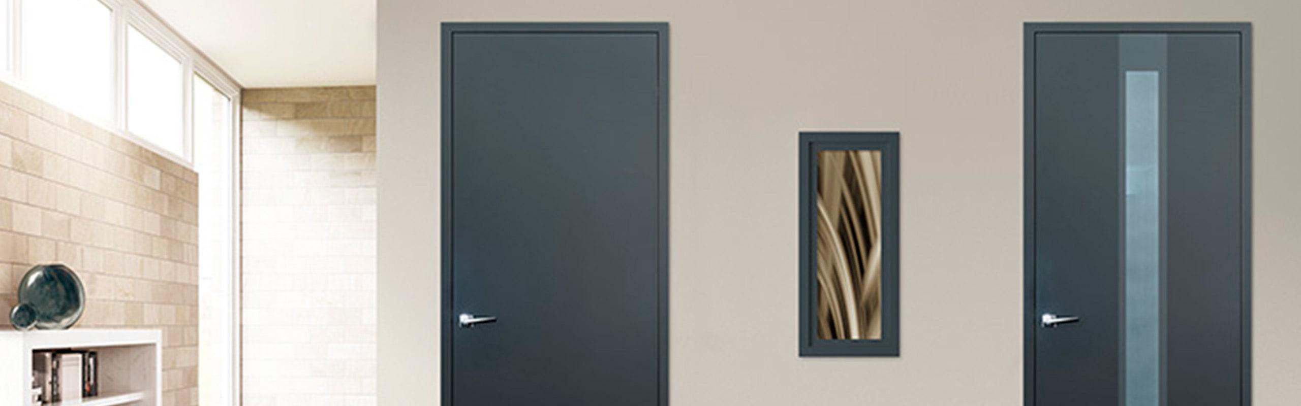 Türen von Holz Heck